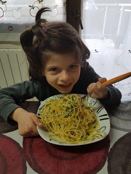 Giulia Cara pasta alle arselle