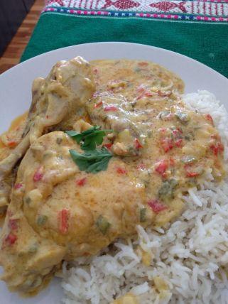 Miguel Angel pollo al curry